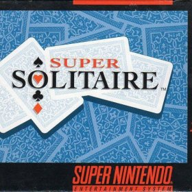 The cover art of the game Super Solitaire .