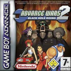 The cover art of the game Advance Wars 2 - Black Hole Rising.