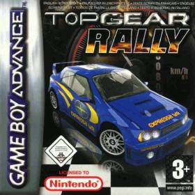 The cover art of the game Top Gear Rally.