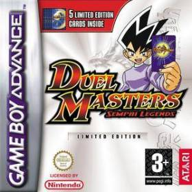 The cover art of the game Duel Masters: Sempai Legends.