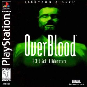 The cover art of the game Overblood.