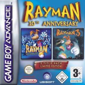 The cover art of the game Rayman: 10th Anniversary Collection.
