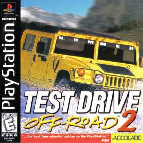 The cover art of the game Test Drive Off-Road 2.