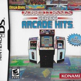 The cover art of the game Konami Classics Series: Arcade Hits.