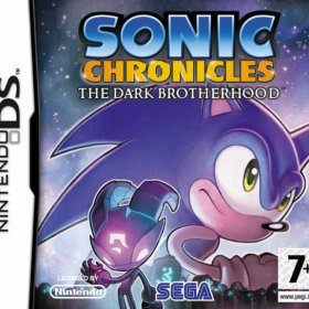The cover art of the game Sonic Chronicles: The Dark Brotherhood.