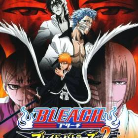 The cover art of the game Bleach: Blade Battlers 2nd.