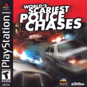 The cover art of the game World's Scariest Police Chases.