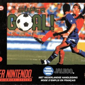 The cover art of the game Super Goal!.
