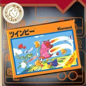 The cover art of the game Famicom Mini - Vol 19 - TwinBee .
