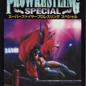 The cover art of the game Super Fire Pro Wrestling Special.