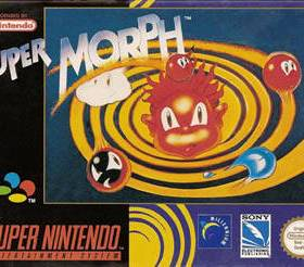 The cover art of the game Super Morph .