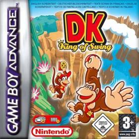 The cover art of the game DK - King of Swing.