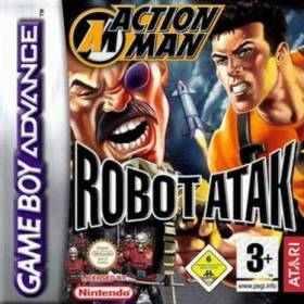 The cover art of the game Action Man - Robot Atak .
