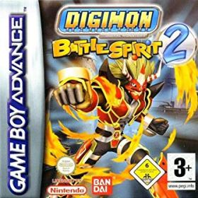 The cover art of the game Digimon Battle Spirit 2.