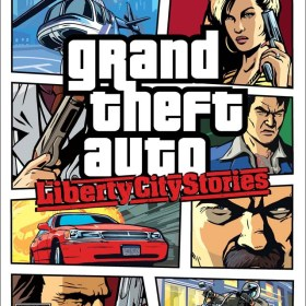 The cover art of the game Grand Theft Auto: Liberty City Stories.