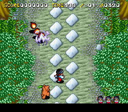 Pocky & Rocky 2 (Europe) SNES ROM - CDRomance