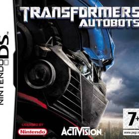 The cover art of the game Transformers - Autobots .