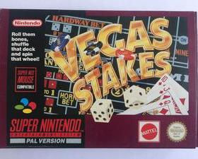 The cover art of the game Vegas Stakes .