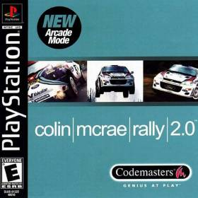 The cover art of the game Colin McRae Rally 2.0.