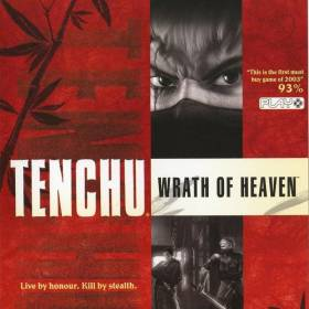 The cover art of the game Tenchu: Wrath of Heaven.
