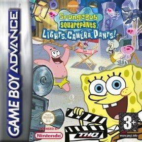 The cover art of the game Spongebob SquarePants - Lights, Camera, Pants!.