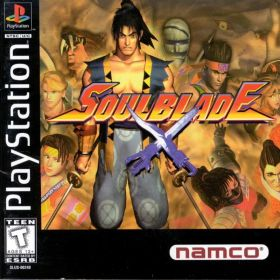 The cover art of the game Soul Blade.