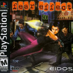 The cover art of the game Fear Effect.