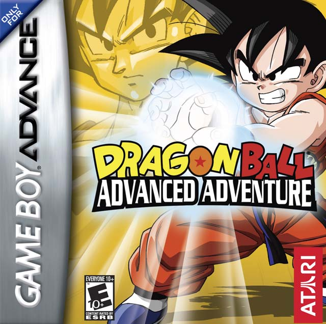 The coverart image of Dragon Ball - Advanced Adventure