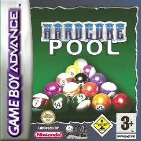 The cover art of the game Hardcore Pool .