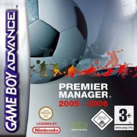 The cover art of the game Premier Manager 2005 - 2006 .