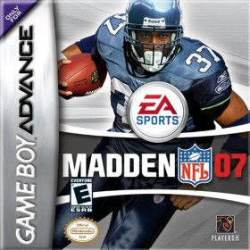 The cover art of the game Madden NFL 07.
