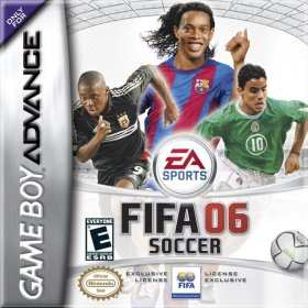The cover art of the game Fifa 06.