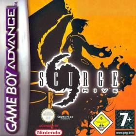 The cover art of the game  Scurge Hive.