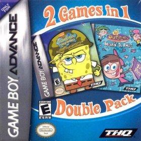 The cover art of the game SpongeBob Squarepants - Battle for Bikini Bottom & Fairly Oddparents - Breakin' Da Rules.