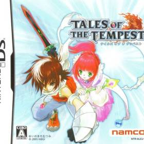 The cover art of the game Tales of the Tempest.