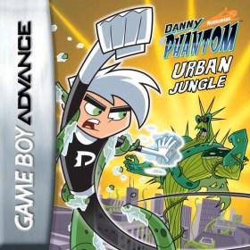 The cover art of the game Danny Phantom - Urban Jungle .