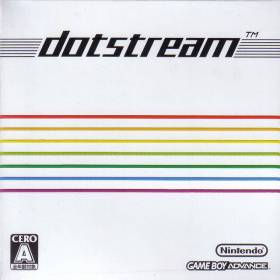 The cover art of the game Bit Generations - Dotstream .
