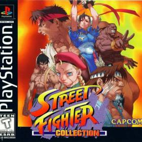 The cover art of the game Street Fighter Collection.