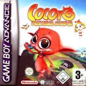 The cover art of the game Cocoto Platform Jumper.