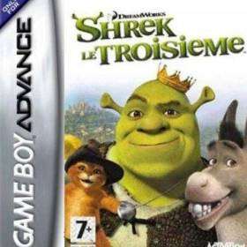 The cover art of the game Shrek The Third .
