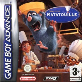 The cover art of the game Ratatouille .