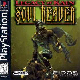 The cover art of the game Legacy of Kain: Soul Reaver.