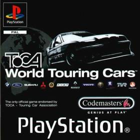 The cover art of the game TOCA World Touring Cars.