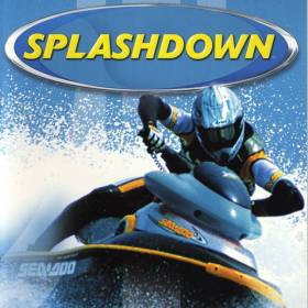 The cover art of the game Splashdown.