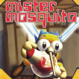The cover art of the game Mister Mosquito.