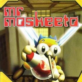 The cover art of the game Mr Moskeeto.