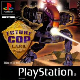 The cover art of the game Future Cop: L.A.P.D..