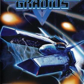 The cover art of the game Gradius V.