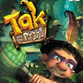 The cover art of the game Tak and the Power of Juju.