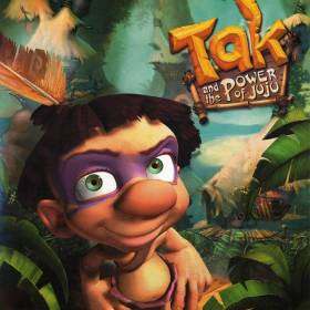 The cover art of the game Tak and the Power of Juju (USA).7z.